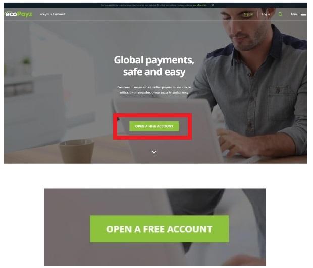 ecopayz 登録方法